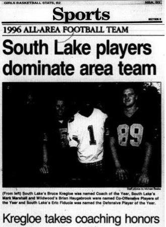 1996 Daily Commercial All-Area Team, Page 1