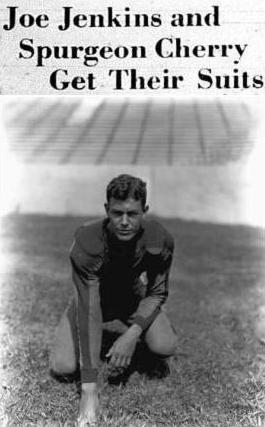 1929 Leesburg Yellow Jackets Football Archives, 1929 Jackets In College Spurgeon Cherry, University of Florida, Leesburg High School, Leesburg Florida