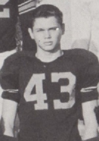1956 Leesburg Yellow Jackets Football Archives, Barry Parker, Carver Heights Quarterback Club, Leesburg High School, Leesburg, Florida