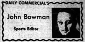 1968 Leesburg Yellow Jackets Football Archives, John Bowman, Sports Editor Daily Commercial, Sunday, November 10, 1968, Friday, November 8, 1968 Carver Heights Quarterback Club, Leesburg High School, Leesburg, Florida
