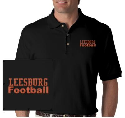 Leesburg High School Yellow Jackets Football, BUY NOW, Gildan 100% Cotton Adult T-shirt In Tall Sizes, Made of pre-shrunk 100% cotton, 6.1-oz. jersey. Taped neck and shoulders with double-needle seamless collar and hems....Read more here, Carver Heights Quarterback Club, Leesburg High School, Leesburg, Florida