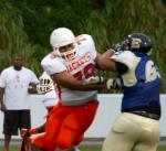 George Dailey, OL , 6-3, 320, Sr, 2014 All-Central Florida Honorable Mention Team, Leesburg High School, 1401 Yellow Jacket Way, Leesburg, Florida 34748, Gerald Lacey, Staff Writer, Carver Heights Quarterback Club