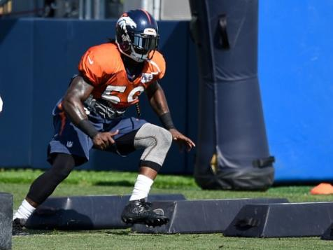 2015 Jackets In The Pros Football Archives (59) Danny Trevathan, Denver Broncos, NFLDanny Trevathan runs through drills at Broncos training camp. (John Leyba, The Denver Post) Carver Heights Quarterback Club, Leesburg High School, Leesburg, Florida