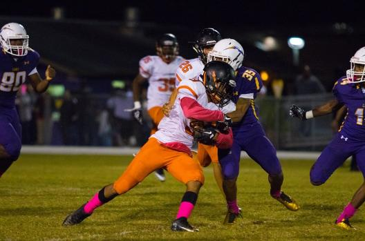 2017 Leesburg Yellow Jackets Football Archives, Leesburg vs. Ocala Lake Weir, Friday, October 27, 2017(Photo courtesy Ashley Beyer, Freelance Photographer)Carver Heights Quarterback Club, Leesburg High School, Leesburg, Florida