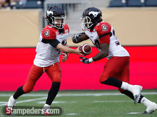 2015 Jackets In The Pros Archives, (34) Tory Harrison, Calgary Stampeders, Calgary Stampeders vs. Winnipeg Blue Bombers, Saturday, August 30, 2015, Carver Heights Quarterback Club, Leesburg High School, Leesburg, Florida