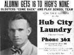 '26 Varsity Football Head Coach Frank Banning, Alumni Gets 16 To High's None, October 1, 1926, Carver Height Quarterback Club, Leesburg High School, Leesburg Florida