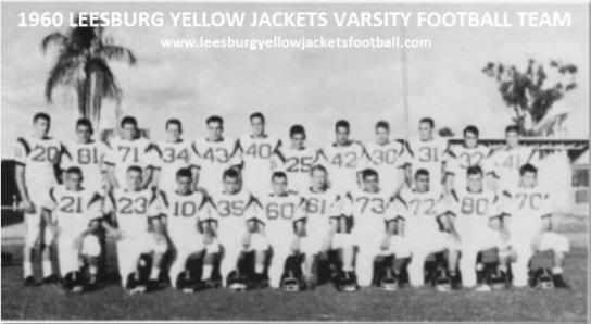1960-1969 LEESBURG YELLOW JACKETS FOOTBALL ARCHIVES PAGE 1