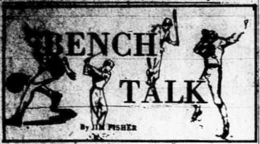 1963 Leesburg Yellow Jackets Football Archives, Bench Talk By Jim Fisher, September 9, 1963, The Daily Commercial, Carver Heights Quarterback Club, Leesburg High School, Leesburg, Florida