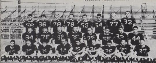 Gary Semanchik 1963 Leesburg High School Junior Varsity Football Roster, Leesburg High School, 1401 Yellow Jacket Way, Leesburg, Florida 34748, LEESBURG HIGH SCHOOL, 1401 YELLOW JACKET WAY, LEESBURG, FLORIDA 34748, Gerald Lacey, Staff Writer, Carver Heights Quarterback Club
