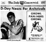 1968 Eustis High School Panthers Varsity Football Team Member Stuart Cottrell, D-Day Nears For Archrivals, Thursday, November 7, 1968, Carver Heights Quarterback Club, Leesburg High School, Leesburg, Florida