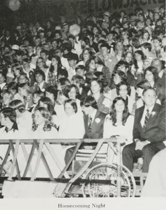 1976 Homecoming Night, Leesburg Memorial Field