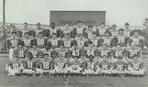 1980-1989 LEESBURG HIGH SCHOOL FOOTBALL TEAM ROSTERS, Leesburg High School, 1401 Yellow Jacket Way, Leesburg, Florida 34748, LEESBURG HIGH SCHOOL, 1401 YELLOW JACKET WAY, LEESBURG, FLORIDA 34748, Gerald Lacey, Staff Writer, Carver Heights Quarterback Club