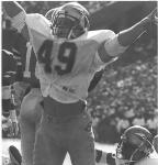 Jackets In College: #49 FB Dayne Williams, Florida State University 1988, The Sporting News - All-American - Honorable Mention