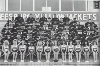Team Rosters By Year Leesburg High School Football 1988, Leesburg High School, 1401 Yellow Jacket Way, Leesburg, Florida 34748, LEESBURG HIGH SCHOOL, 1401 YELLOW JACKET WAY, LEESBURG, FLORIDA 34748, Gerald Lacey, Staff Writer, Carver Heights Quarterback Club