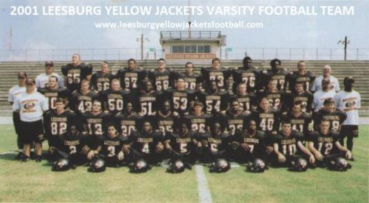 2001 Leesburg High School Varsity Football Stats, Leesburg High School, 1401 Yellow Jacket Way, Leesburg, Florida 34748, Gerald Lacey, Staff Writer, Carver Heights Quarterback Club