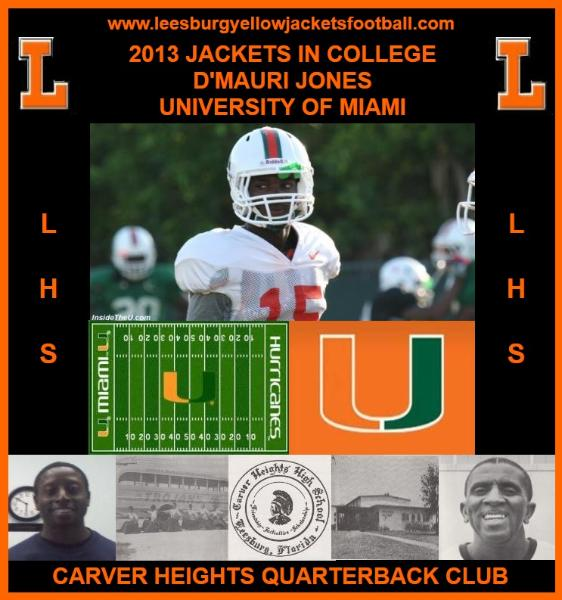 Jackets In College: D'Mauri Jones, University of Miami (FL)Miami Hurricanes set to wrap up spring football slate