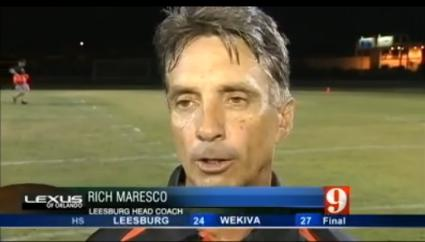 2014 Leesburg Yellow Jackets Football Archives, Leesburg vs Apopka Wekiva, High School Football Game Highlights, August 22, 2014, Carver Heights Quarterback Club, Leesburg High School, Leesburg, Florida