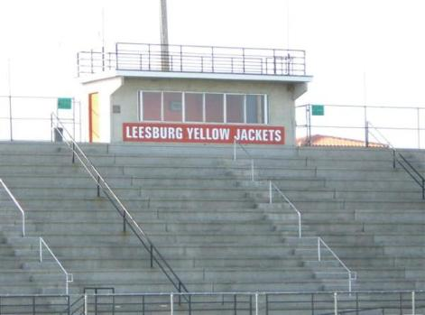 Leesburg Memorial Field at Hubert O. Dabney Stadium, Home of the JacketsLeesburg High School, Leesburg, Florida.