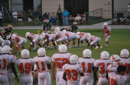 Trinity Catholic nurses early lead to finish, August 29, 2009, Leesburg High School, 1401 Yellow Jacket Way, Leesburg, Florida 34748, LEESBURG HIGH SCHOOL, 1401 YELLOW JACKET WAY, LEESBURG, FLORIDA 34748, Gerald Lacey, Staff Writer, Carver Heights Quarterback Club