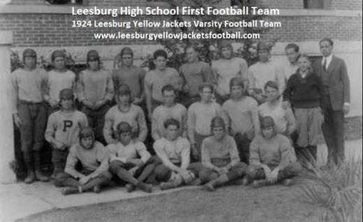 1924 Leesburg Yellow Jackets Football Archives, Leesburg High School, 1401 Yellow Jacket Way, Leesburg, Florida 34748, LEESBURG HIGH SCHOOL, 1401 YELLOW JACKET WAY, LEESBURG, FLORIDA 34748, Gerald Lacey, Staff Writer, Carver Heights Quarterback Club