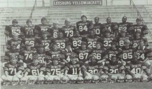 Team Rosters By Year Leesburg High School Football 1984